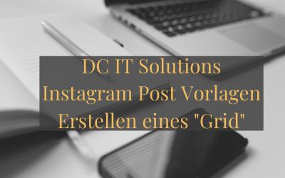 DC IT Solutions Instagram Post Vorlagen