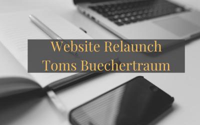 Website Relaunch Toms Buechertraum