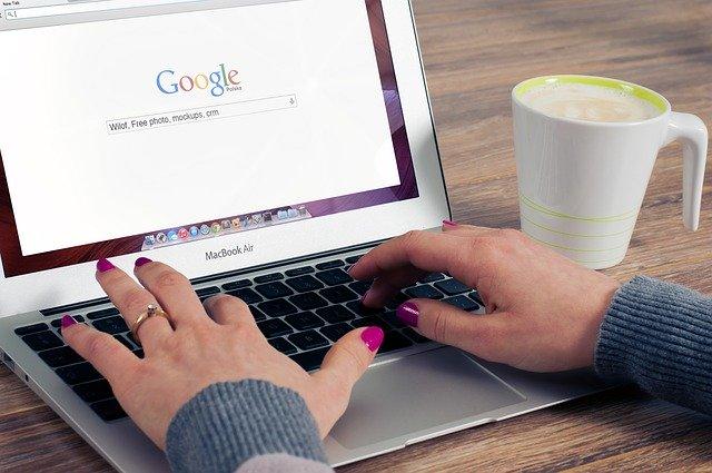 Suchanfrage bei Google