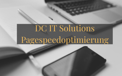 DC IT Solutions Pagespeedoptimierung